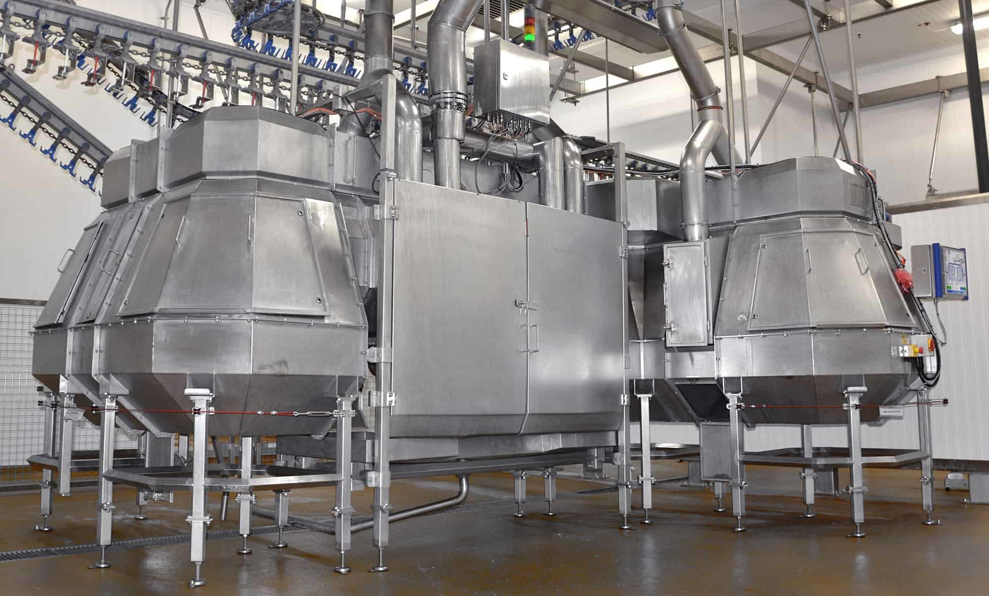 SonoSteam Poultry equipment