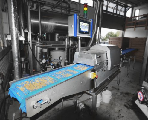Seed disinfection machine